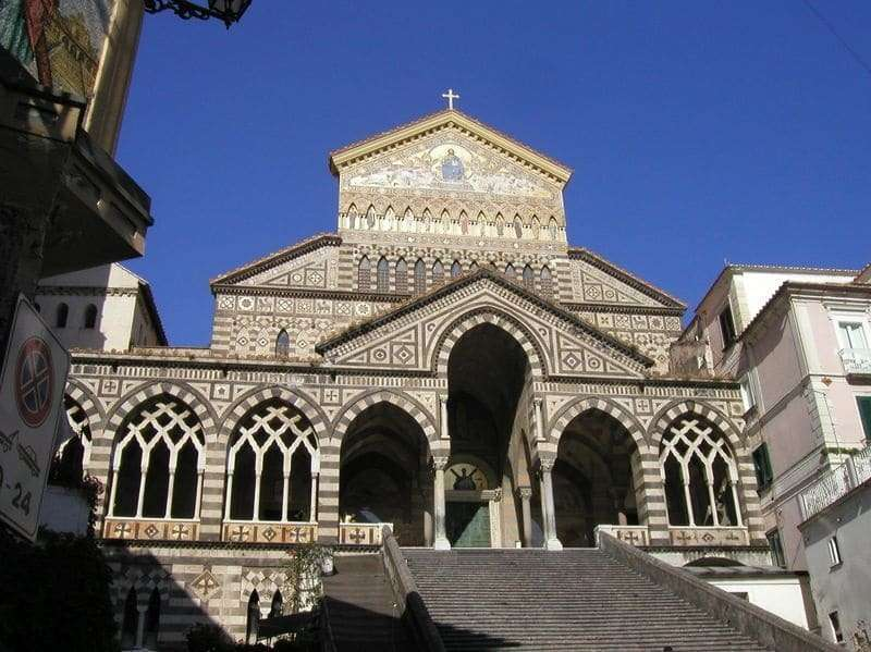 Cruise on the Amalfi Coast | Cathedral of Amalfi - Vela Dream